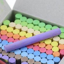 洁康 彩色粉笔 6盒装 600支 单箱价