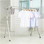 晾派 (LVPAIN) SK9018 折叠伸缩晾衣架 豪华双杆 2.0米 银色