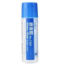 得力(deli)7303 液体胶水 财务专用胶水 黏贴胶水 塑料头胶水 125ml