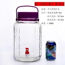 顺胜 玻璃罐 5L 一个