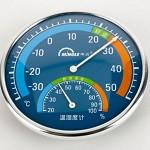 明高 TH101B 室内湿度计135g 直径12.5cm