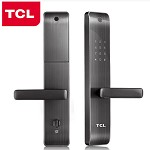 TCL A18-R2P-Y 家用防盗门、智能密码电子磁卡锁 深空灰标配