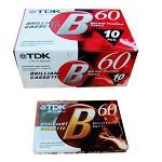 TDK 空白磁带60分钟 复读机录音机专用 60分钟录音带