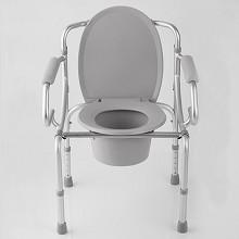 鱼跃(YUWELL)H-028B 铝合金坐便椅 可折叠