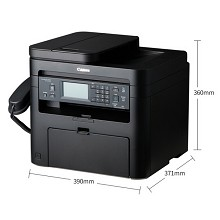 佳能(Canon)imageCLASS MF236n 智能黑立方 A4黑白激光多功能一体机 打印/复印/扫描/传真