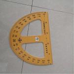 星月牌 量角器50cm 黄色