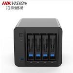 海康威视(HIKVISION)H304 4盘位NAS网络存储服务器 企业私有网盘 数据共享 专业版 标配(不含硬盘) 网络存储设备  其它存储设备