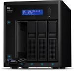 西部数据(WD)PR4100 My Cloud Pro Series 双网络云存储 NAS 四盘 标配0TB 网络存储设备  其它存储设备