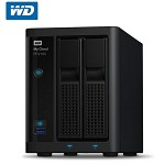西部数据(WD)RP2100 My Cloud Pro Series双网络云存储 NAS 双盘 标配0TB 网络存储设备