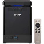 威联通(QNAP)TS-453Bmini 直立 NAS 四盘位网络存储(无内置硬盘) 4G内存 四核处理器 网络存储设备