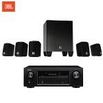 JBL CINEMA 510CN+天龙X520功放 电视音响组合 音响电视组合机