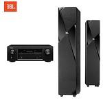 JBL STUDIO 180BK+天龙X520功放 电视音响组合 音响电视组合机