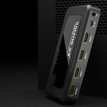 山泽(SAMZHE)HV-603W HDMI三进一出高清切换器 支持3D