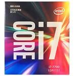 英特尔(Intel)i7 7700 酷睿四核 盒装CPU处理器