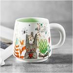 佳佰 JB0904 陶瓷马克杯 兔子