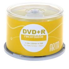 铼德(ARITA)DVD+R光盘/刻录盘 e时代系列 16速4.7G 桶装50片