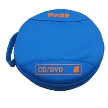 铭大金碟(MNDA)CD/DVD光盘收纳包24片装 天蓝色 光盘盒/CD包