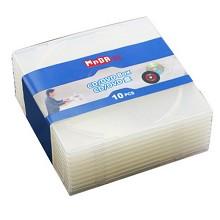 铭大金碟(MNDA)光盘盒 柔韧设计 不易碎 10片/包
