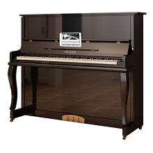 普鲁特娜(PRUTENER)UP-121 全新德国钢琴UP121/125/132 立式 黑色