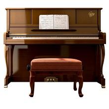 卡罗德(CAROD)CJ3 全新演奏立式钢琴123高度 柚木色