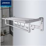 九牧(JOMOO)936011 太空铝可折叠置物架排勾 卫浴间类
