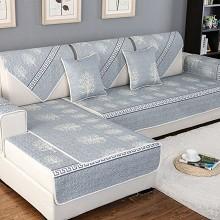 钟爱一生(CHERISHES LIFE)沙发垫套装 发财树-灰 90*120cm 单片价