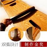 龙凤 6028 双弧古筝 黑檀乌木素面 乐器 其他文艺设备