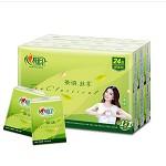 心相印 手帕纸 茶语丝享系列4层纸巾*24包 卫生用纸制品