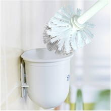 茶花 4301 挂式圆形套装马桶刷清洁刷  其他清洁用具