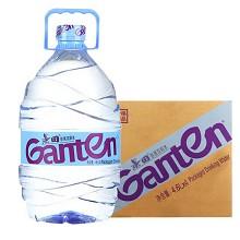 景田 饮用天然泉水 大瓶装水 4.6L*4瓶/箱 整箱装
