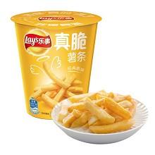 乐事(Lay's)真脆薯条原味(电影杯)40g 食品饮料