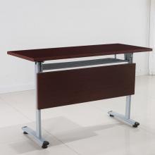 乐杰 FBZ-001 人造板简易员工折叠移动培训桌1200*400*750 颜色备注