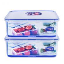 乐扣乐扣(lock&lock) HPL815D 方形保鲜盒 透明 1100ml