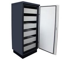 西夫卫(SAFEWIN)防磁柜光盘柜钢制档案音响带录像带磁带数据媒体储存防火防潮安全柜 150L 磁带柜
