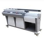金典(GOLDEN)GD-W605无线胶装机全自动A3热熔标书装订机资料报告装订机 胶印机