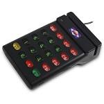 爱宝(Aibao)ST-700 磁条磁卡读卡器 刷卡器 黑色 刷卡机