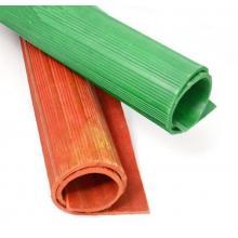 华东 绝缘橡胶板 10kv配电室胶垫 5mm厚 宽度1米 长度5米 红色/绿色下单备注