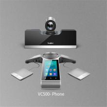 亿联(Yealink)VC500 会议室终端 中小型会议电话 83度高清广角
