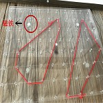 工匠时光 教学专用 教具磁性钉子板 29x23cm 黑色