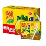 维他奶 低糖柠檬茶 250ml*16盒 整箱价