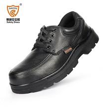 赛固 SC6182-2 劳保安全鞋、钢包头防砸防刺穿耐高温透气工作皮鞋 44 其它坠落防护