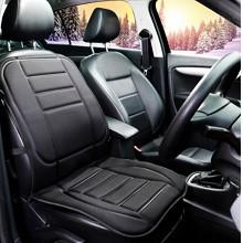 卡饰社(CarSetCity)CS-27110 单座位加热保暖坐垫 汽车用品 冬季座垫座套 通用型 黑色