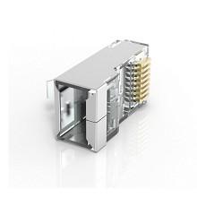 威迅(VENTION)VBSJT-5F 超五类屏蔽水晶头 100个