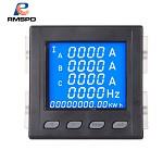RMSPD 三相多功能智能数显电力仪表 液晶RS485+一路模拟量输出 91*91 输电仪器仪表