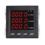 RMSPD 三相多功能智能数显电力仪表 液晶RS485通迅+四路开关输入输出 91*91 输电仪器仪表