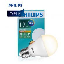 飞利浦(PHILIPS)螺口led节能灯 E27 12W 6500K日光灯泡 自镇流荧光灯