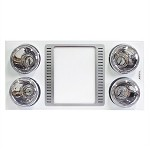 奥普(AUPU)FDP5512A 集成吊顶浴霸 灯暖型多功能纯平浴霸 300x600 白色