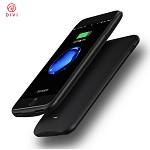 第一卫(divi)苹果7P/8P背夹电池 iPhone背夹充电宝大容量移动电源7/8plus充电手机壳轻薄便携7500毫安 黑色 RFID 背夹