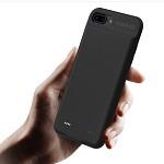罗马仕(ROMOSS)EC38苹果iphone7P/8P无线背夹电池超轻薄便携手机壳背夹式移动电源充电宝快充3800毫安黑色 RFID 背夹