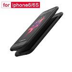 罗马仕(ROMOSS)EC38苹果iphone6P/6SP无线背夹电池超轻薄便携手机壳背夹式移动电源充电宝快充3800毫安黑色 RFID 背夹
